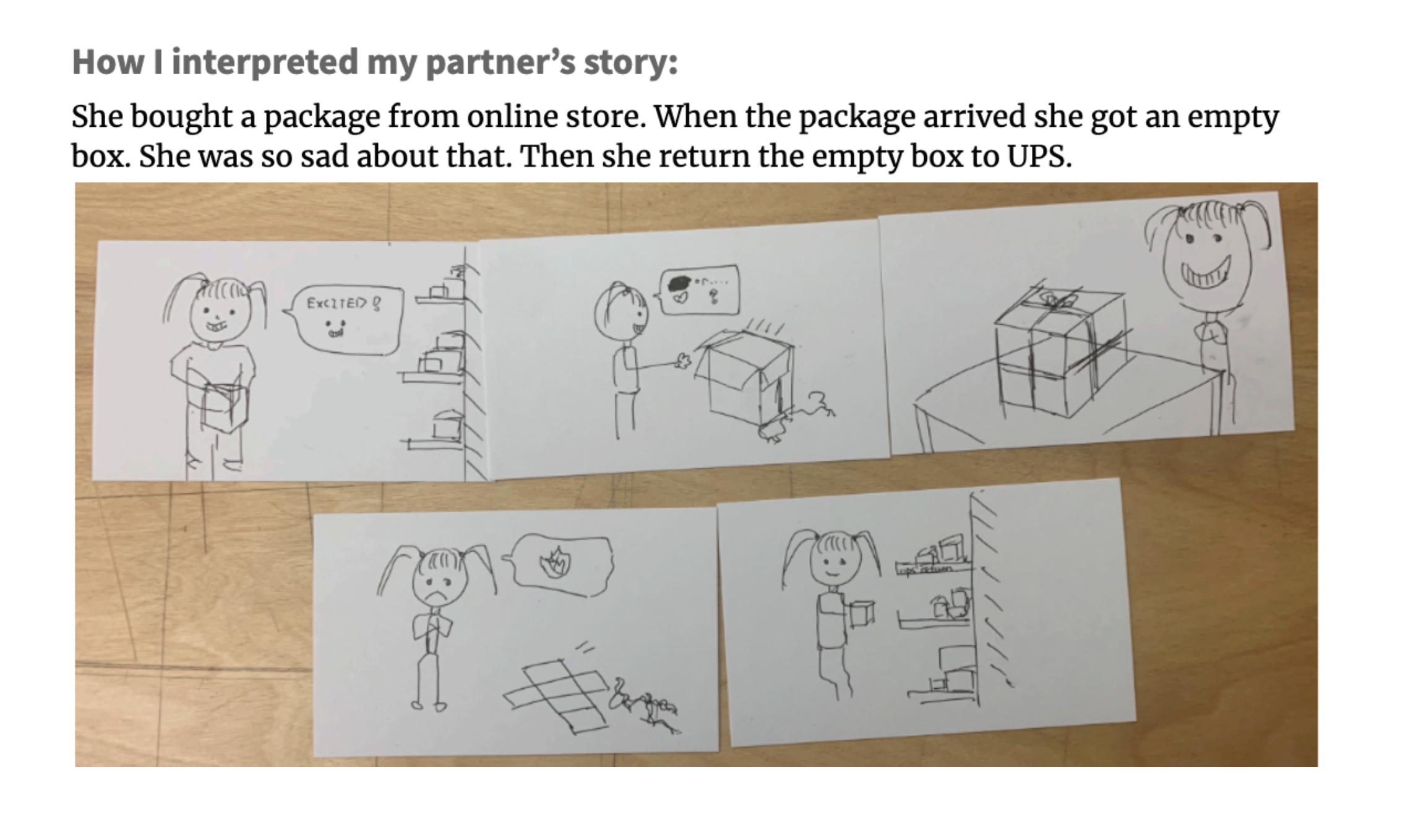 CCA: Picture Story Shuffle Activity